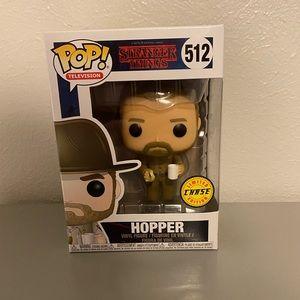 Funko POP: Strangers Things - Hopper, Chase